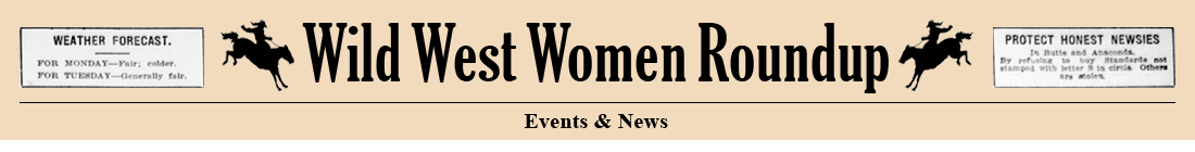 Wild Women Roundup - Events & News